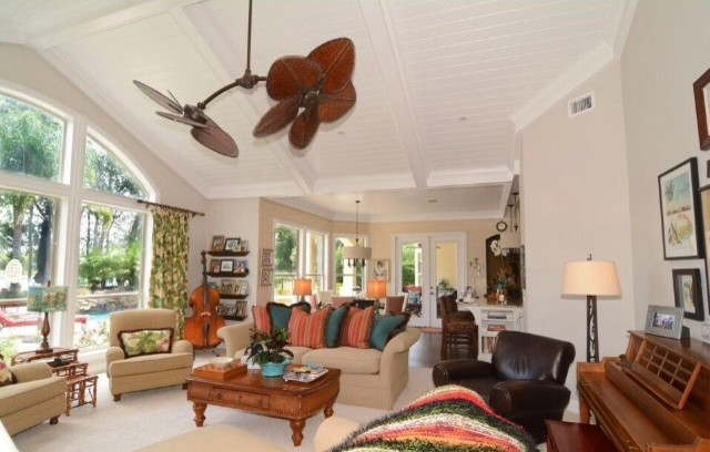 Coastal Home Beach Style Living Room Jacksonville By JUST B INTERIORS
