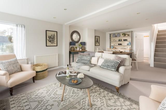 Coastal Living Room Maritim Wohnbereich Cornwall Von Jessica Forbes Interior Stylist Houzz