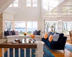 Coastal Living Room beach-style-living-room