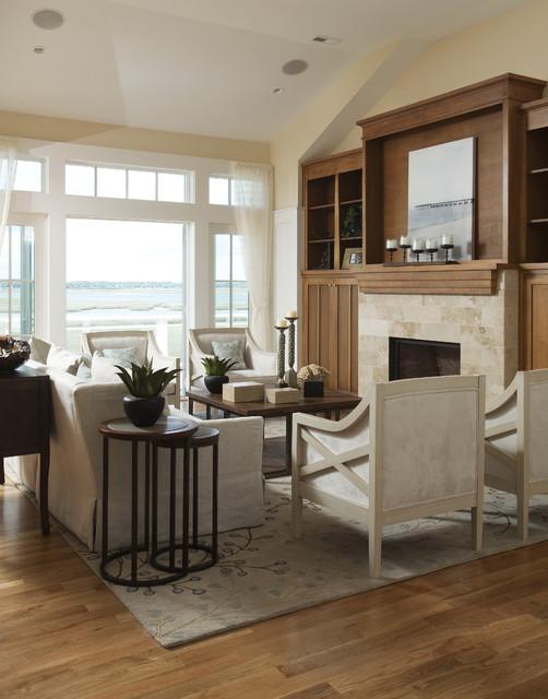 Soft Breezes eclectic-living-room
