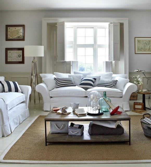 Coastal Looks Coastal Living Room