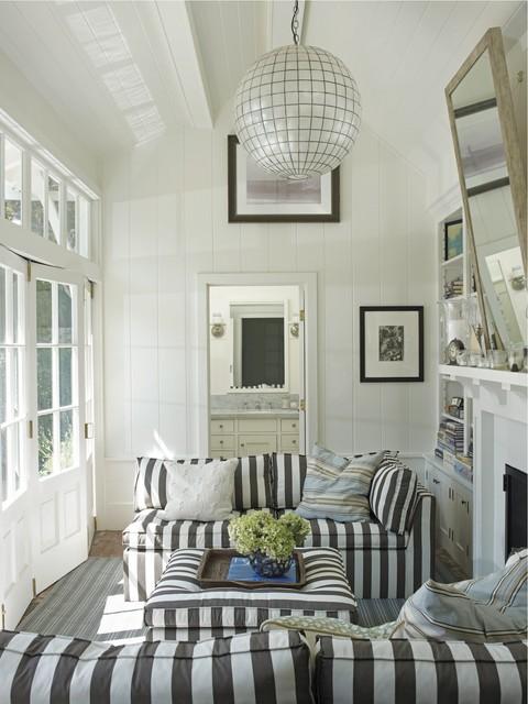 Coastal Modern by Tim Clarke - Beach Style - Living Room ...