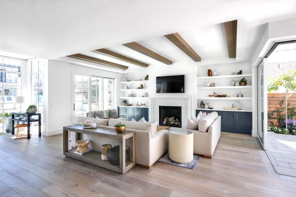Coastal Modern - Modern - Living Room - Orange County - By Lindye Galloway Interiors