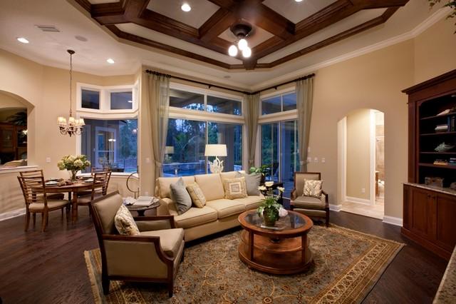 Coastal Oaks At Nocatee Traditional Living Room Jacksonville By Nocat