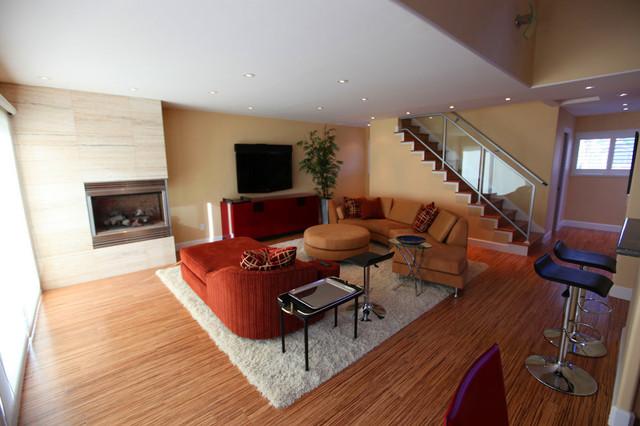 Coastal Transformation contemporary-living-room