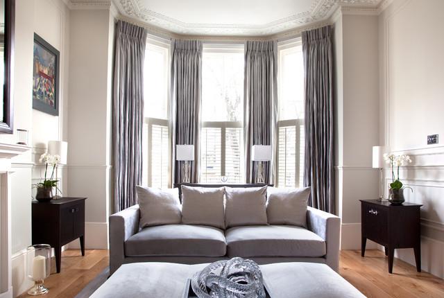 Cochrane Design Victorian Villa Clapham Victorian  : victorian living room from houzz.com size 640 x 430 jpeg 81kB