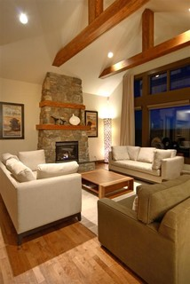 cochrane estate home contemporary living room calgary by a