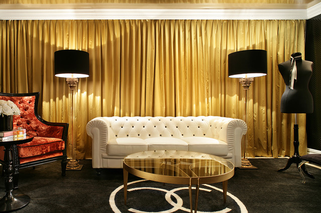 Coco Chanel Sitting Room Contemporary Living