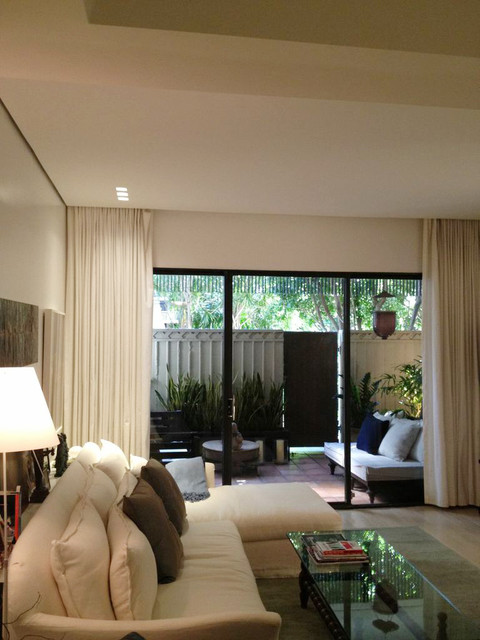 Coconut Grove Project 1 contemporary-living-room