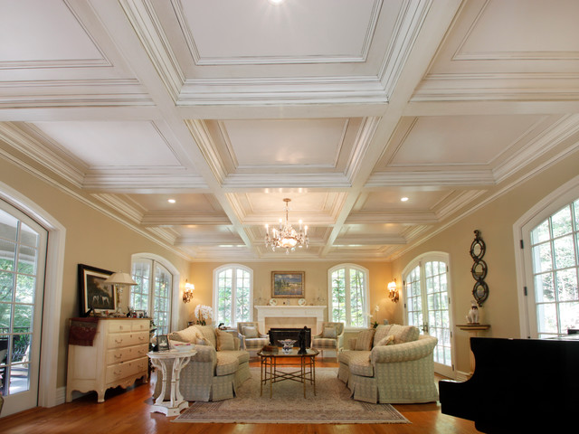 Coffered ceilings for Coffered ceiling styles