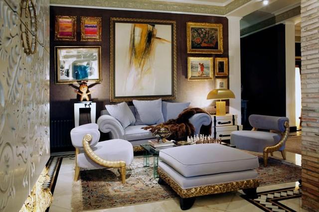 Home Salon Furniture Coleccion Alexandra Show House  Salon