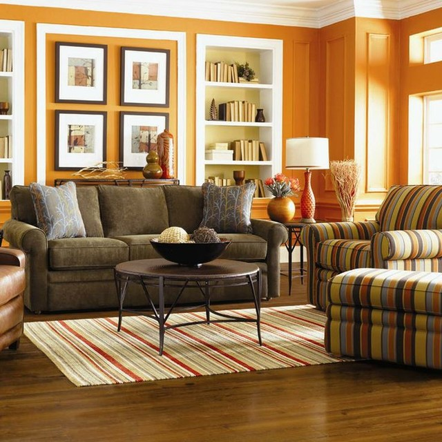 Collins by la z boy contemporary living room other for La z boy living room set