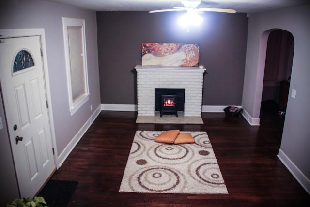 Colonial Renovation traditional-living-room