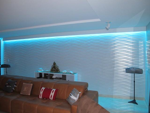 Color Changing Living Room Lightingcontemporary Miami