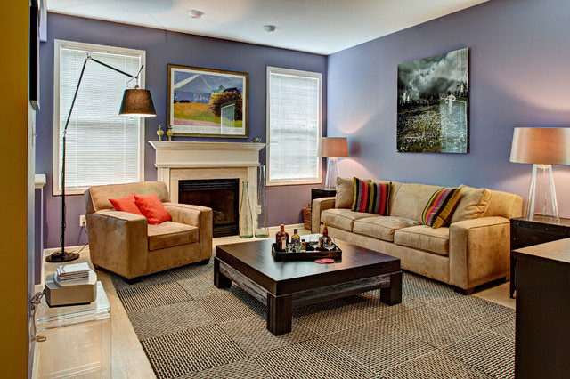 Color Story Nutley Nj Townhome Transitional Living