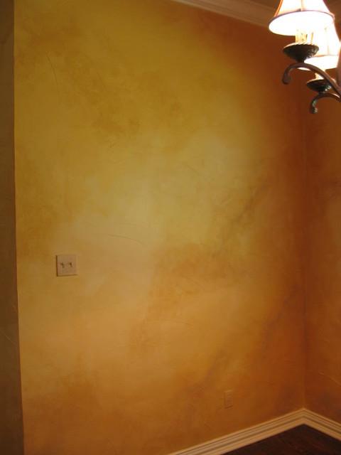 color wash walls eclectic living room other metro. Black Bedroom Furniture Sets. Home Design Ideas