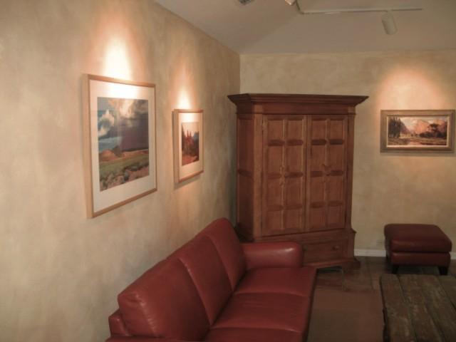 color wash walls contemporary living room dallas. Black Bedroom Furniture Sets. Home Design Ideas