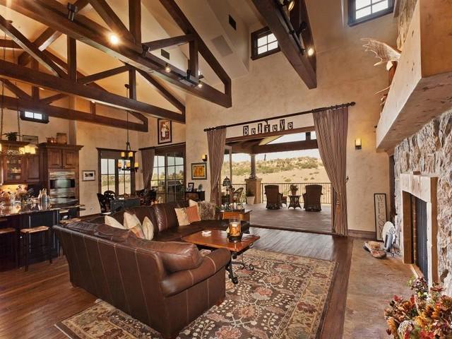 Colorado Rustic Tuscan Residence