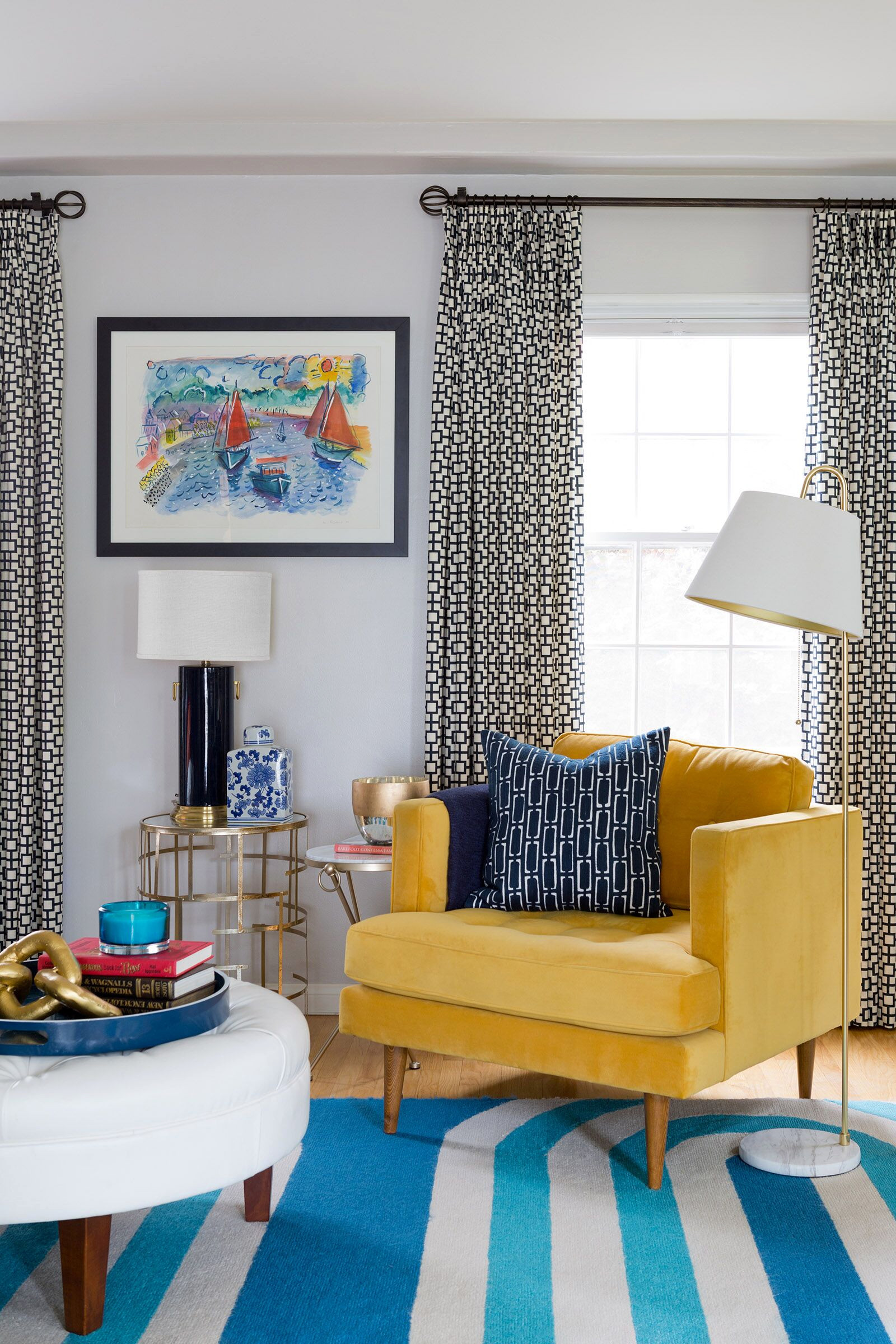 Colorful and Modern 1940's Home