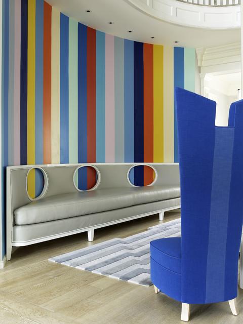 COLORFUL modern-living-room