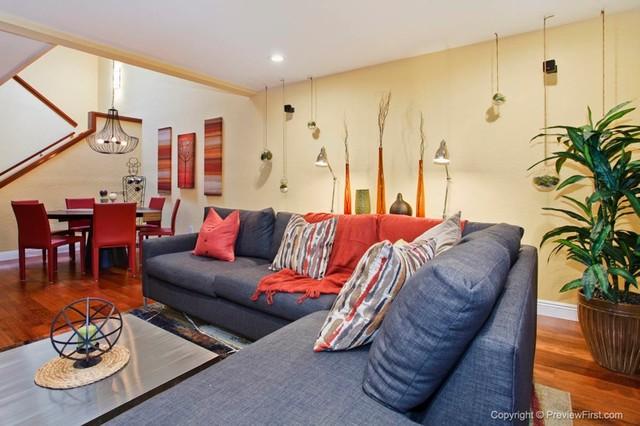 Colorful contemporary scripps ranch san diego ca for Interior design 92130