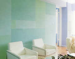 Colour in our Residential Architecture contemporary-living-room