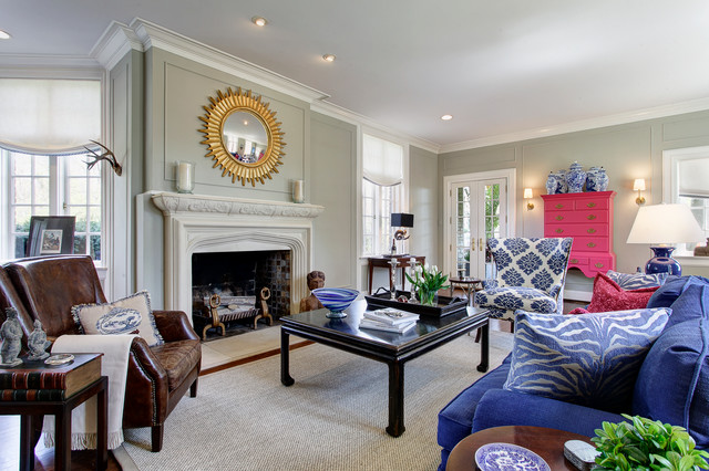 traditional living room by Arc Photography