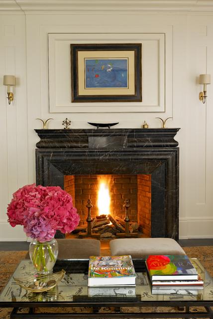 Comfortable Historic Interior traditional-living-room