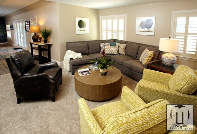 Comfortable Living Room Contemporary Living Room Baltimore By