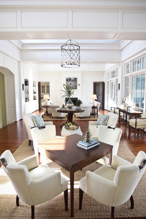 How To Furnish Narrow And Long Open Plan Living Dining Rooms