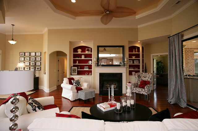 Compass Pointe traditional-living-room
