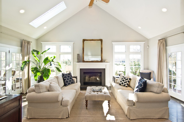 Complete renovation and extension traditional-living-room