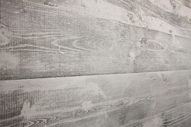 Concrete Board Formed Fireplace