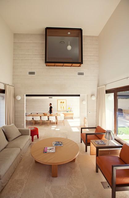 Gary Hamer Interior Design Designers Decorators Concrete Cool Clayfield Contemporary Living Room