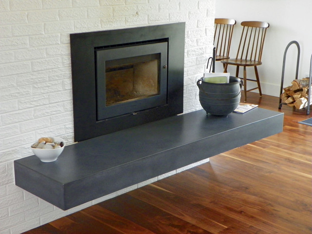 Concrete fire pits and fireplace surrounds on Living Room Fire Pit id=71418