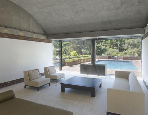 CONCRETE HOUSE - completed modern-living-room