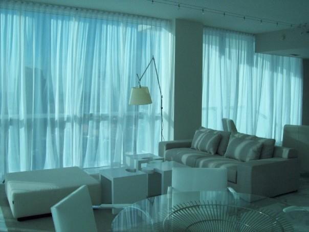 Condo at Continuum Miami Beach modern-living-room