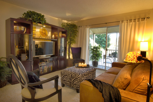 Condo Model Rooms - Contemporary - Living Room - Tampa - by ...