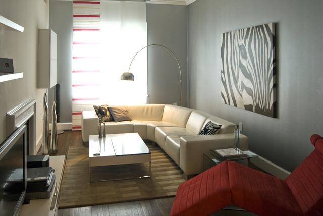 Condo Renovation 2 contemporary-living-room