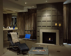 Condominium contemporary-living-room