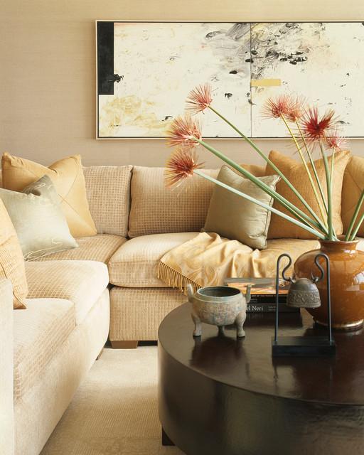 Condominium Remodel traditional-living-room