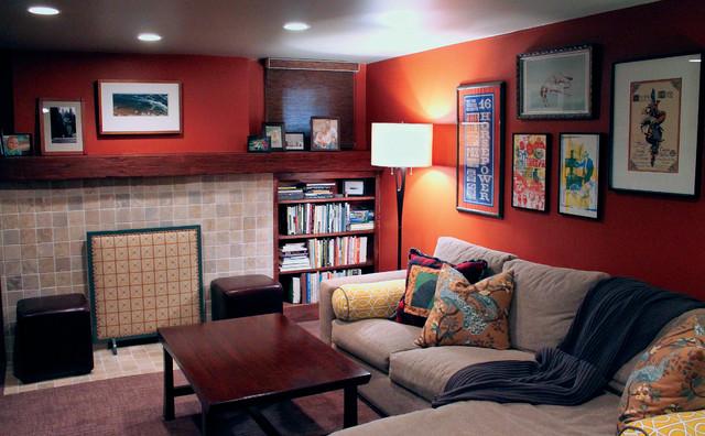 Congress Park: Jake+Christa contemporary-living-room