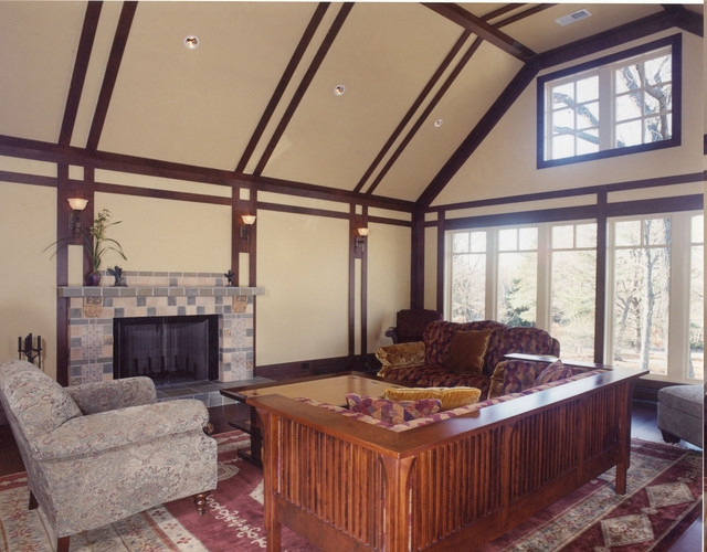Connecticut Homes traditional-living-room