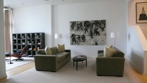 Connie Raines contemporary living room