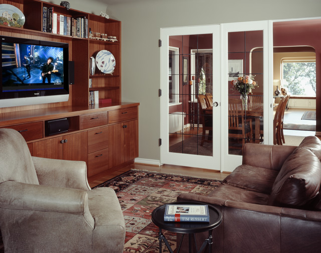 Constance Drive Residence traditional-living-room