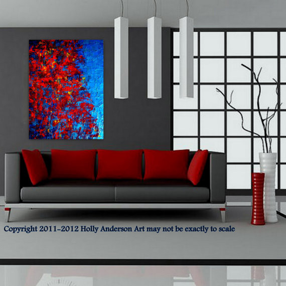 Contemporary Abstract Painting For Modern Spaces Autumn