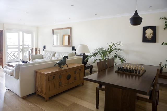 Contemporary Asian Living Room - Asian - Living Room ...