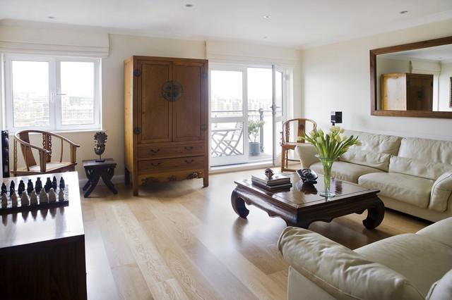 astonishing japanese living room furniture | Contemporary Asian Living Room - Asian - Living Room ...