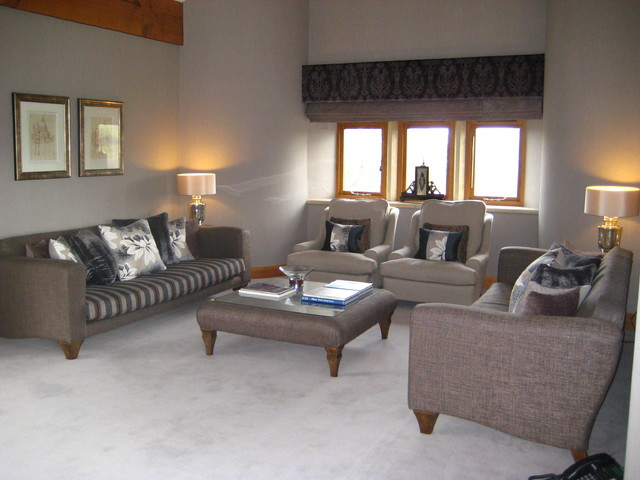 contemporary barn conversion living room manchester uk