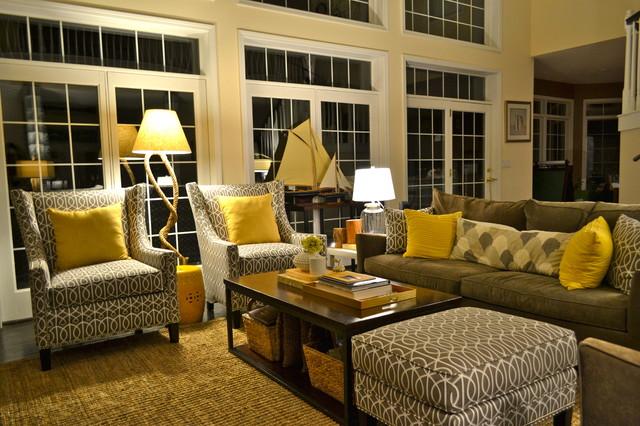 Contemporary but Natural Living Room contemporary-living-room